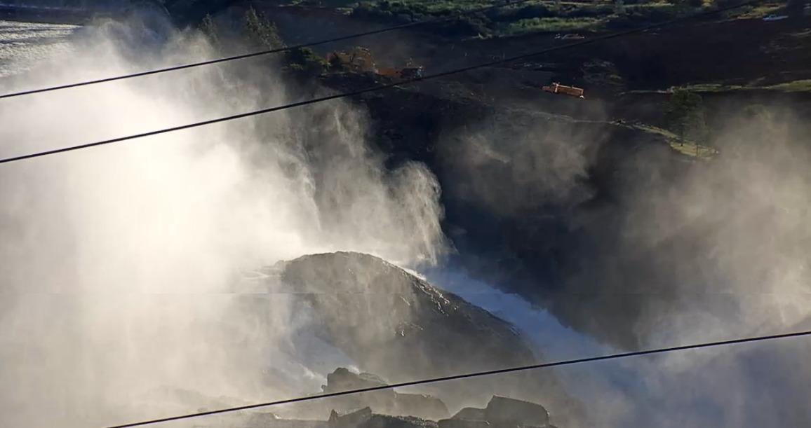 Oroville Dam Spillway Webcam